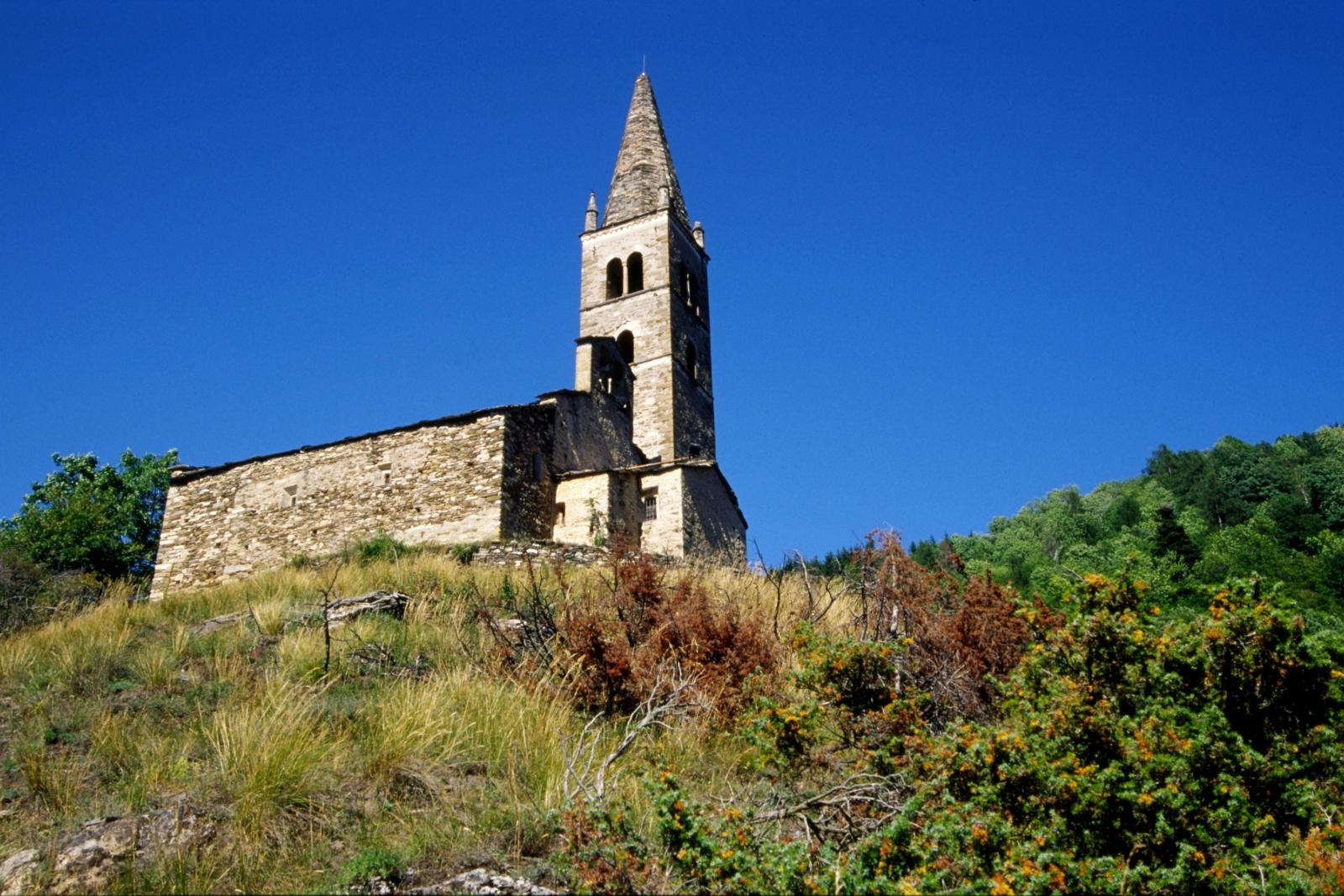 Stroppo (Cn) e la chiesa di San Peyre