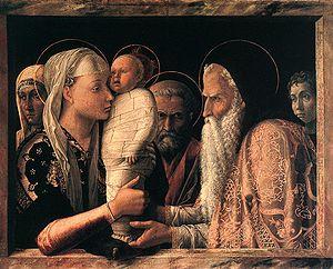 Presentazione al Tempio, Andrea Mantegna, Gemäldegalerie, Berlino