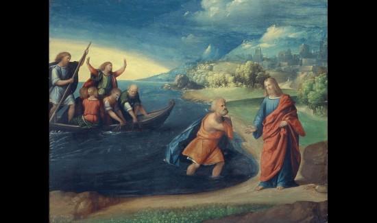 Chiamata di San Pietro, Benvenuto Tisi, detto il Garofalo, (Ferrara 1476 ca - 1559); Galleria Borghese, Roma