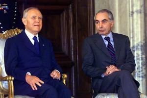 Carlo Azeglio Ciampi e Giuliano Amato