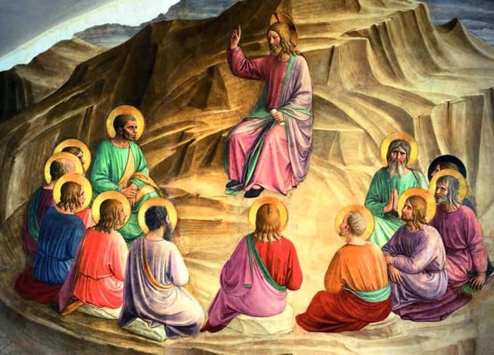 Discorso della montagna, Beato Angelico