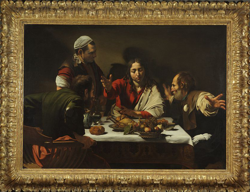 Cena in Emmaus, Caravaggio, The National Gallery, London