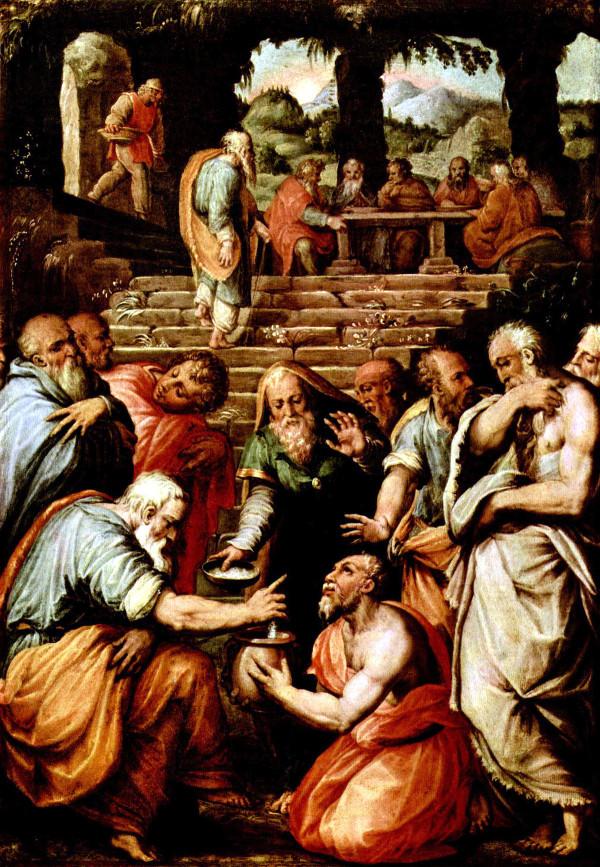 Il profeta Eliseo, Giorgio Vasari, Galleria degli Uffizi