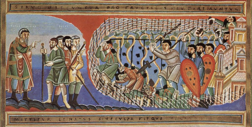 I vignaioli omicidi, Codez Aureus Epternacensis