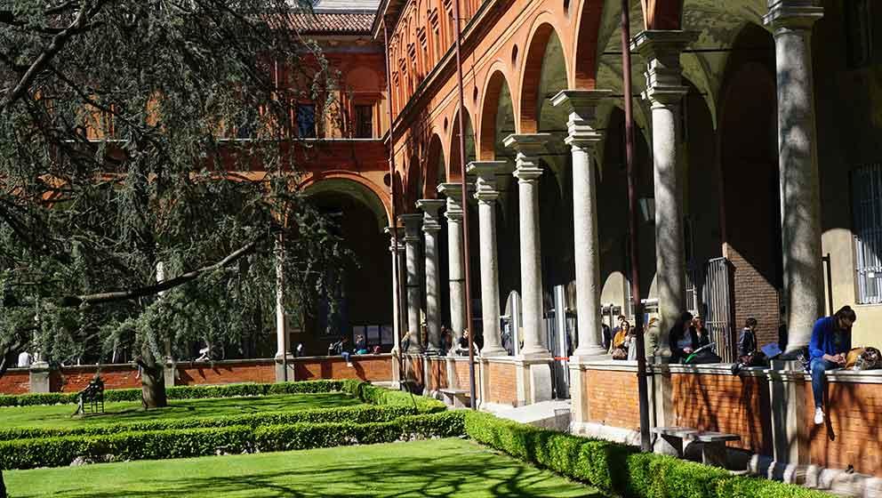 La facoltà di Economia alla Cattolica di Milano