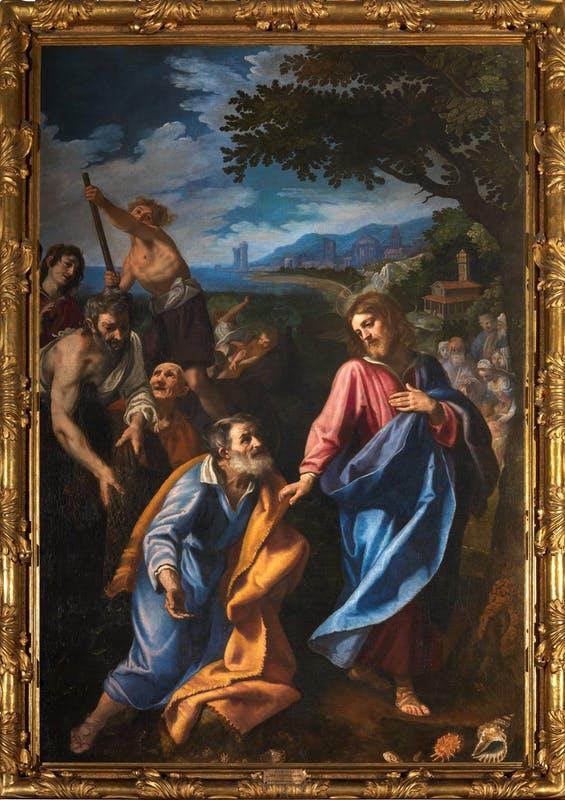Vocazione di Pietro e Andrea (Ludovico Cardi, Palazzo Pitti, Firenze)