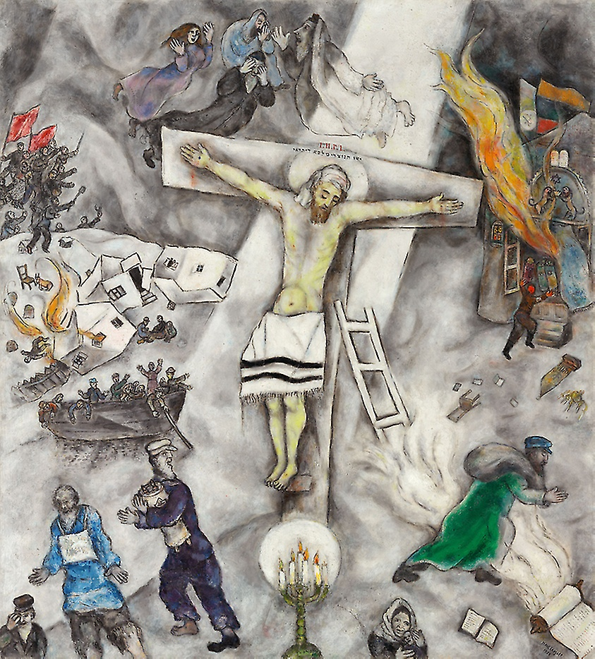 Crocifissione Bianca (Marc Chagall, Art Institute, Chicago)