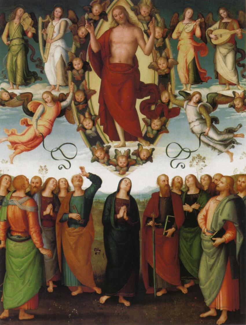 Pietro Perugino, Ascensione di Cristo, Duomo di San Sepolcro (AR)